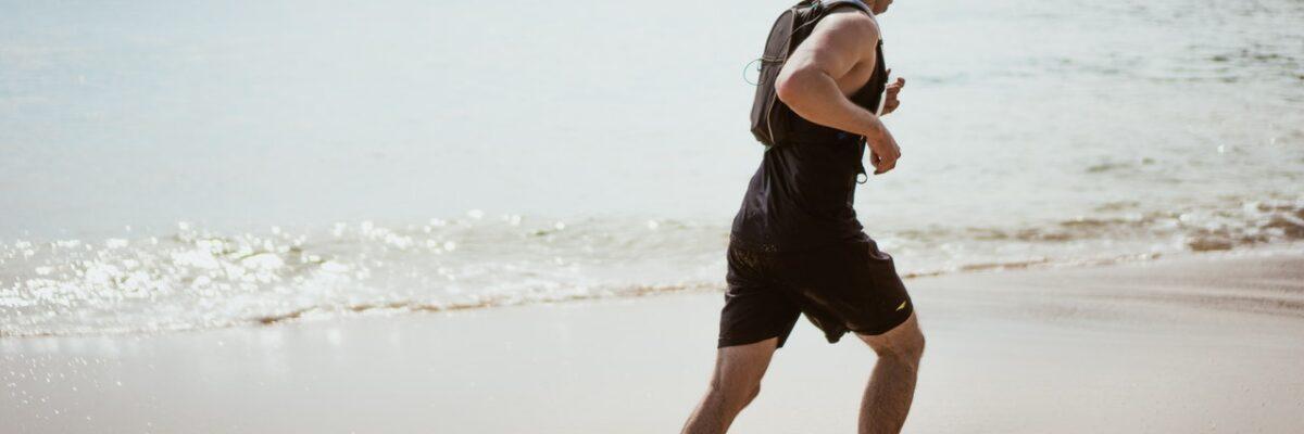 Løb på stranden