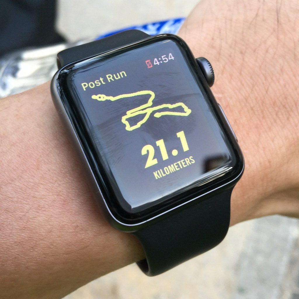 Halvmarathon distancen