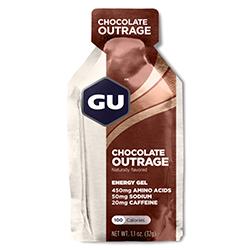 GU gel med chokolade