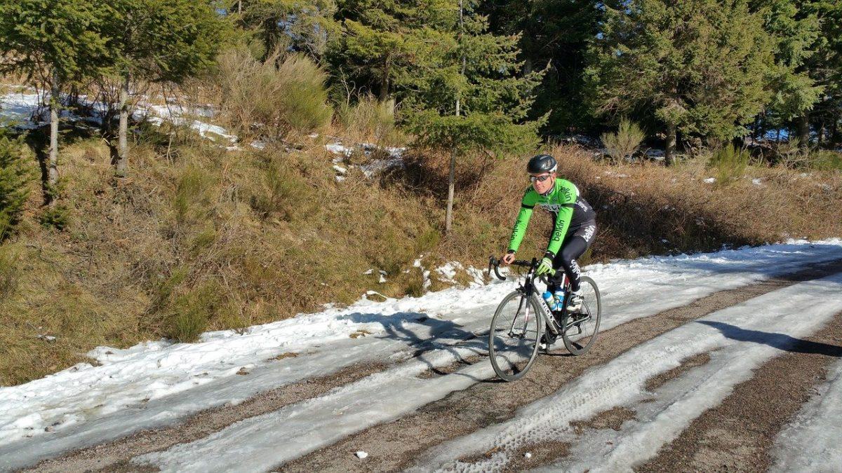 cykling om vinteren