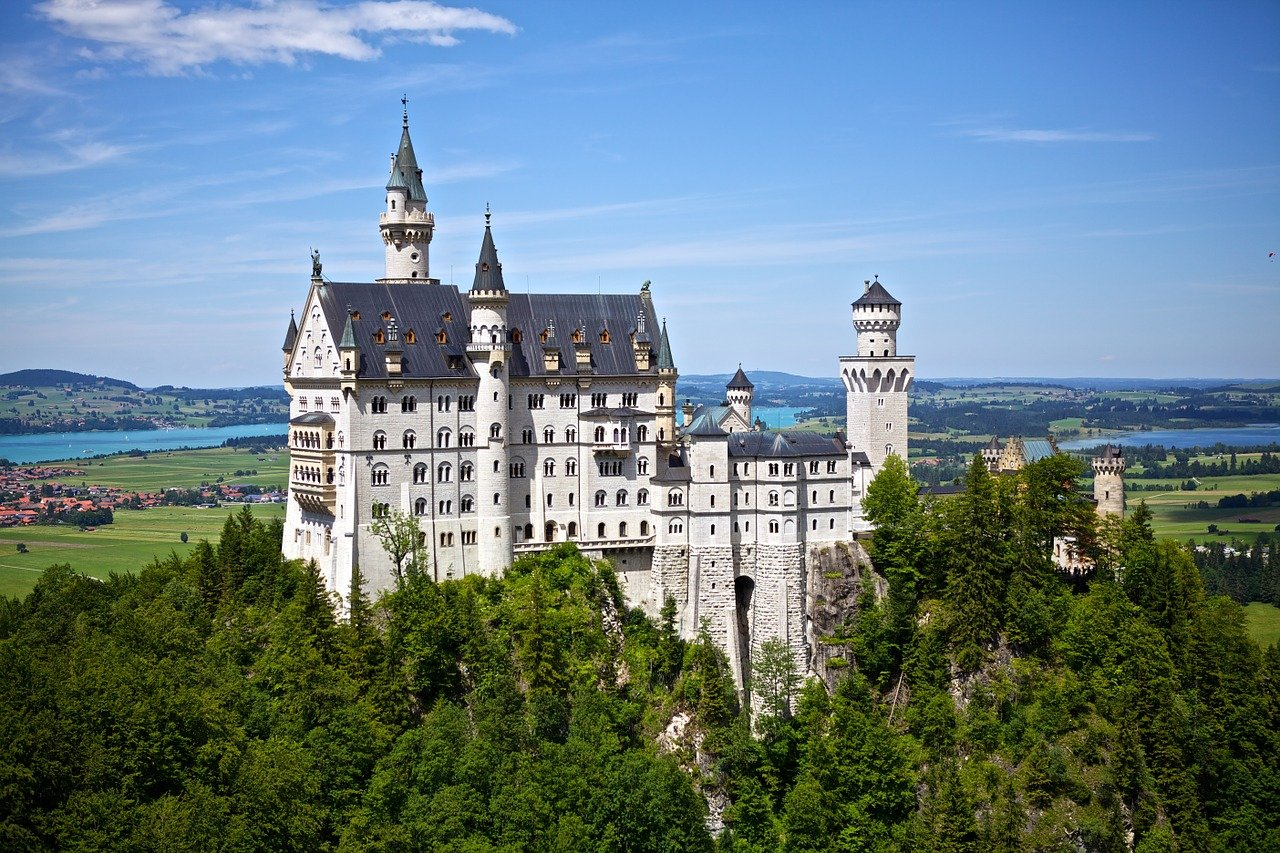 Vandring til Schloss Neuschwanstein