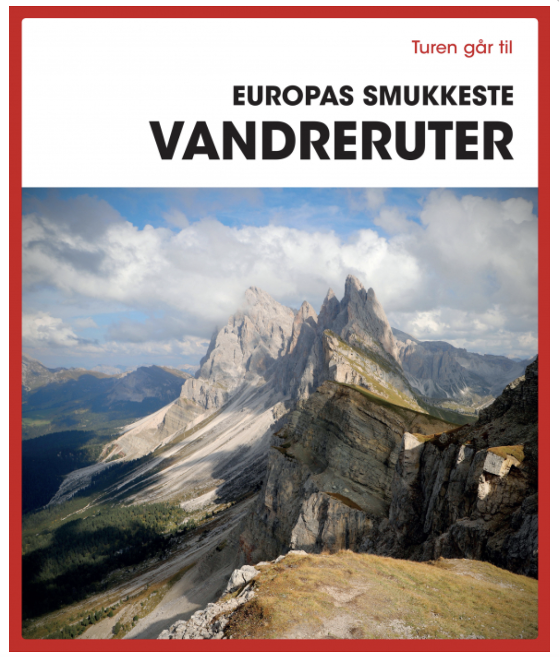 Vandreruter i Europa