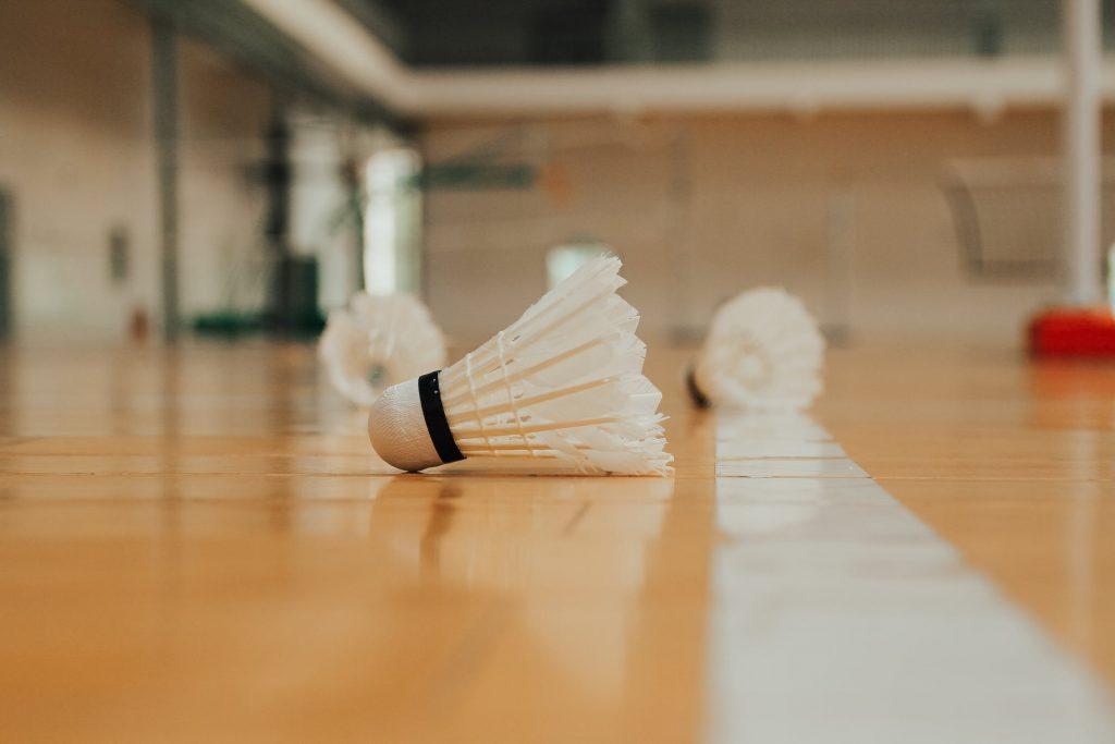 Badminton fjerbolde
