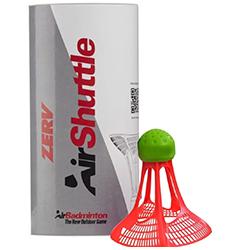 Zerv air shuttle plastik badmintonfjerbolde