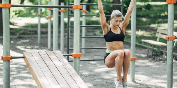 Fitness,Woman,Doing,Training,Workout,Outdoor,In,Summer,Morning,Park.